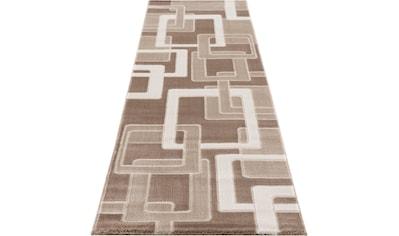 Home affaire Läufer »Anesa«, rechteckig, 12 mm Höhe, mit handgearbeitetem Konturenschnitt kaufen