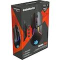 SteelSeries Gaming-Maus »Bundle Rival 600 + QcK Large Cyberpunk Edition«, kabelgebunden