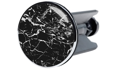 SANILO Stöpsel »Marmor Schwarz«, für Waschbecken, Ø 4 cm kaufen