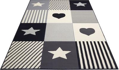 Kinderteppich, »Lovely Patchwork«, HANSE Home, rechteckig, Höhe 9 mm, maschinell gewebt kaufen