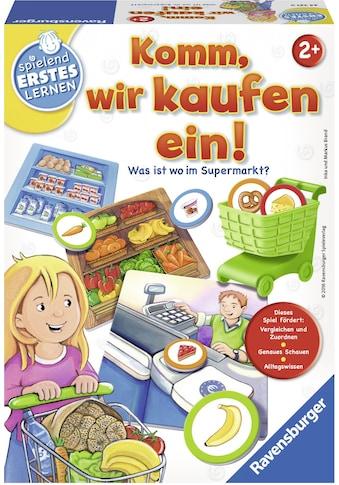 Ravensburger Spiel »Komm, wir kaufen ein!«, Made in Europe, FSC® - schützt Wald -... kaufen
