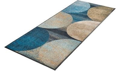 Läufer, »Galaxia«, wash+dry by Kleen - Tex, rechteckig, Höhe 7 mm, gedruckt kaufen