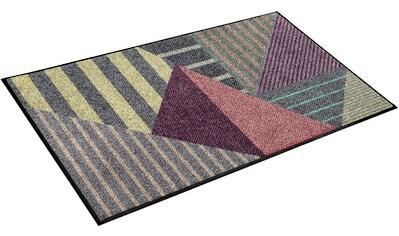 Teppich, »Linato«, wash+dry by Kleen - Tex, rechteckig, Höhe 7 mm, gedruckt kaufen