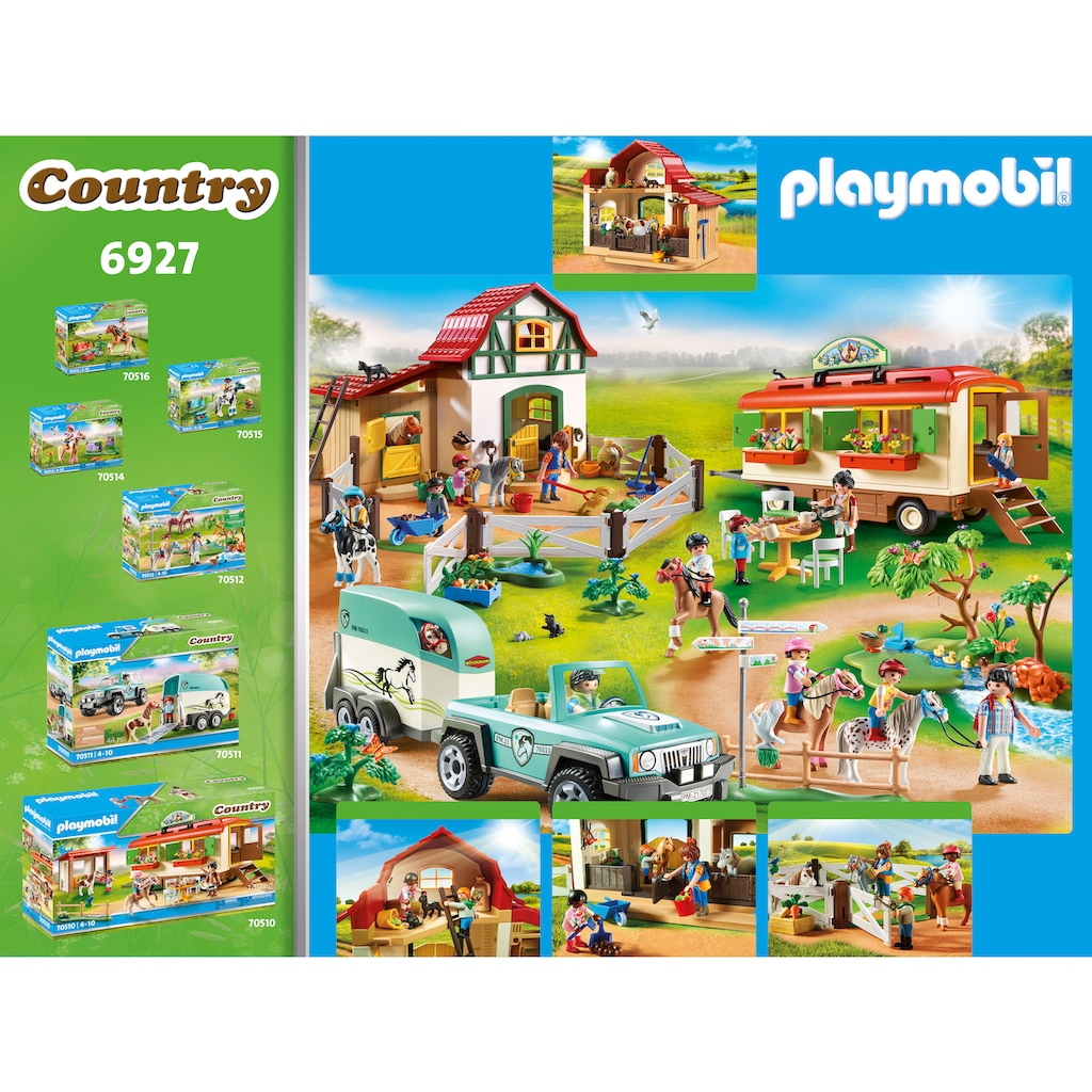 Playmobil® Konstruktions-Spielset »Ponyhof (6927), Country«, Made in Germany