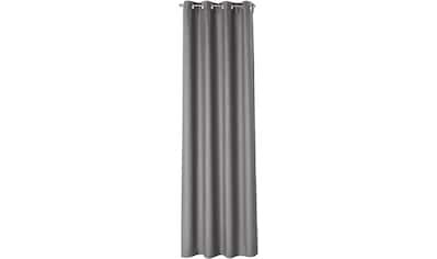 170QM Vorhang nach Maß »Kent«, Ösenschal mit Metallösen kaufen