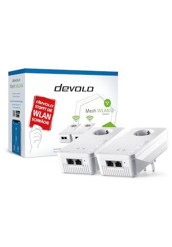 DEVOLO »2400 Mbit/s, 4x GB LAN, bestes Mesh Tri - Band« Netzwerk - Switch kaufen