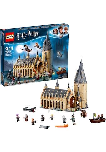 """LEGO® Konstruktionsspielsteine """"Die große Halle von Hogwarts (75954), LEGO® Harry Potter"""", Kunststoff, (878 - tlg.) kaufen"""