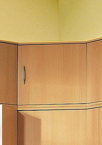 Procontour Aufsatzschrank Clara, Eckaufsatzschrank beige Zubehör für Kleiderschränke Möbel