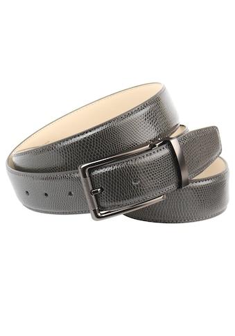Anthoni Crown Ledergürtel, Ein stilvoller Gürtel mit Reptilien-Prägung kaufen