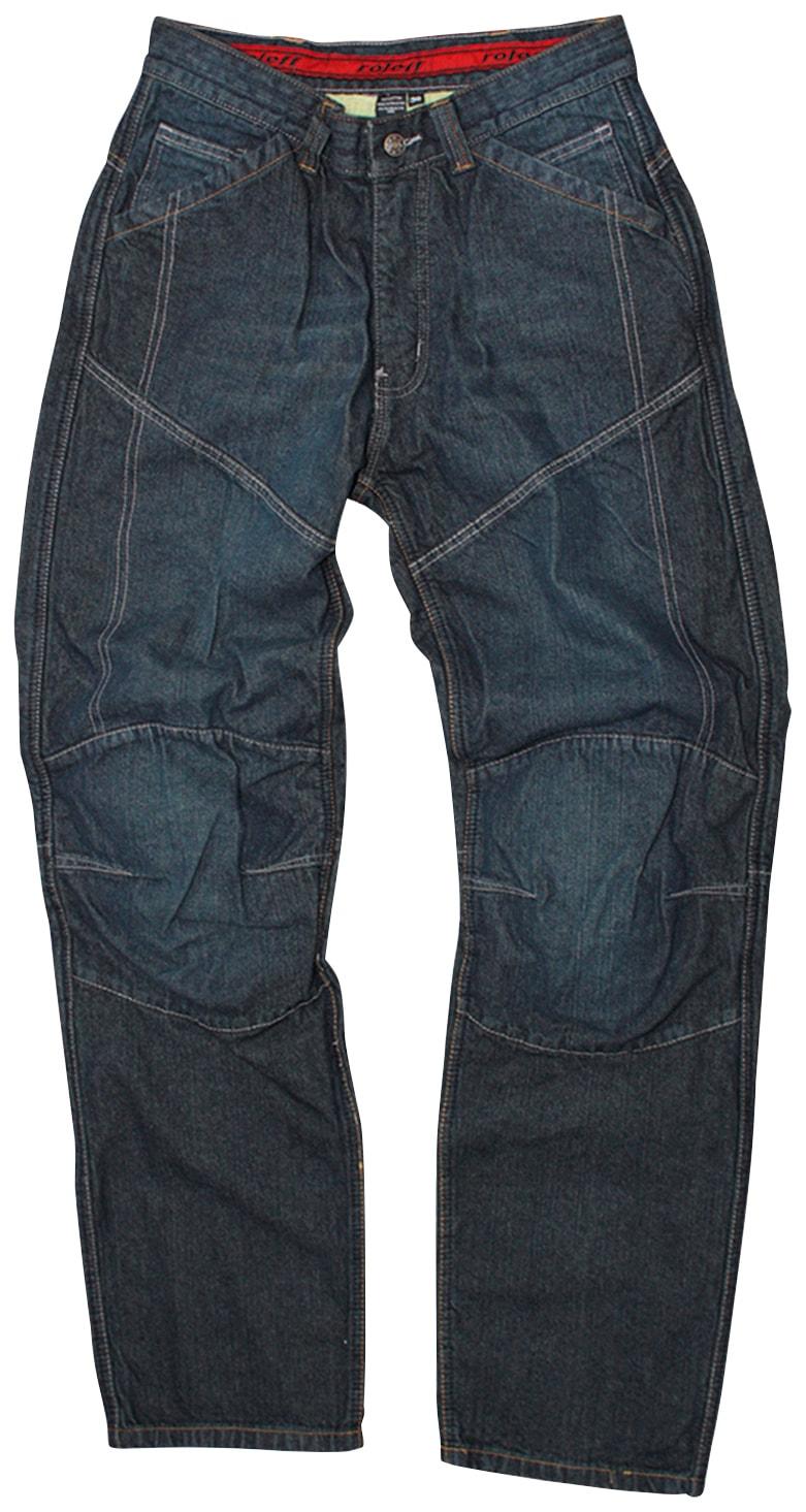 roleff Motorradhose, Jeans blau Schutzbekleidung Zubehör Motorroller Mofas Motorradhose