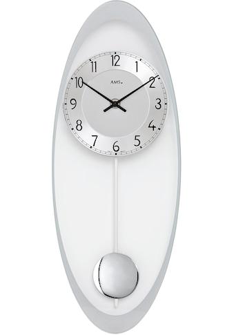 AMS Pendelwanduhr »W7416« kaufen