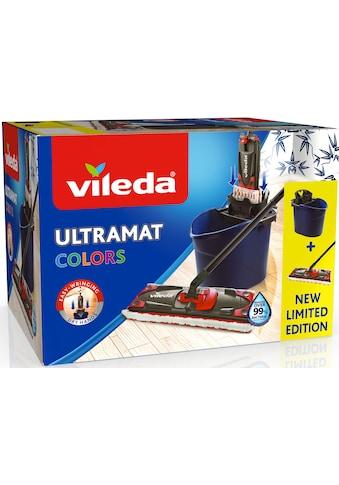 Vileda Bodenwischer-Set »Ultramat 2in1 Colors«, (Ultramat System mit 3-teiligem Stiel,... kaufen
