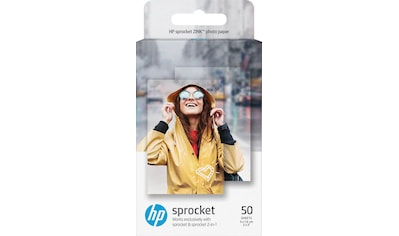 HP Fotopapier, »ZINK® Sticky - Backed 50 Bl.«, (50 - tlg.) kaufen