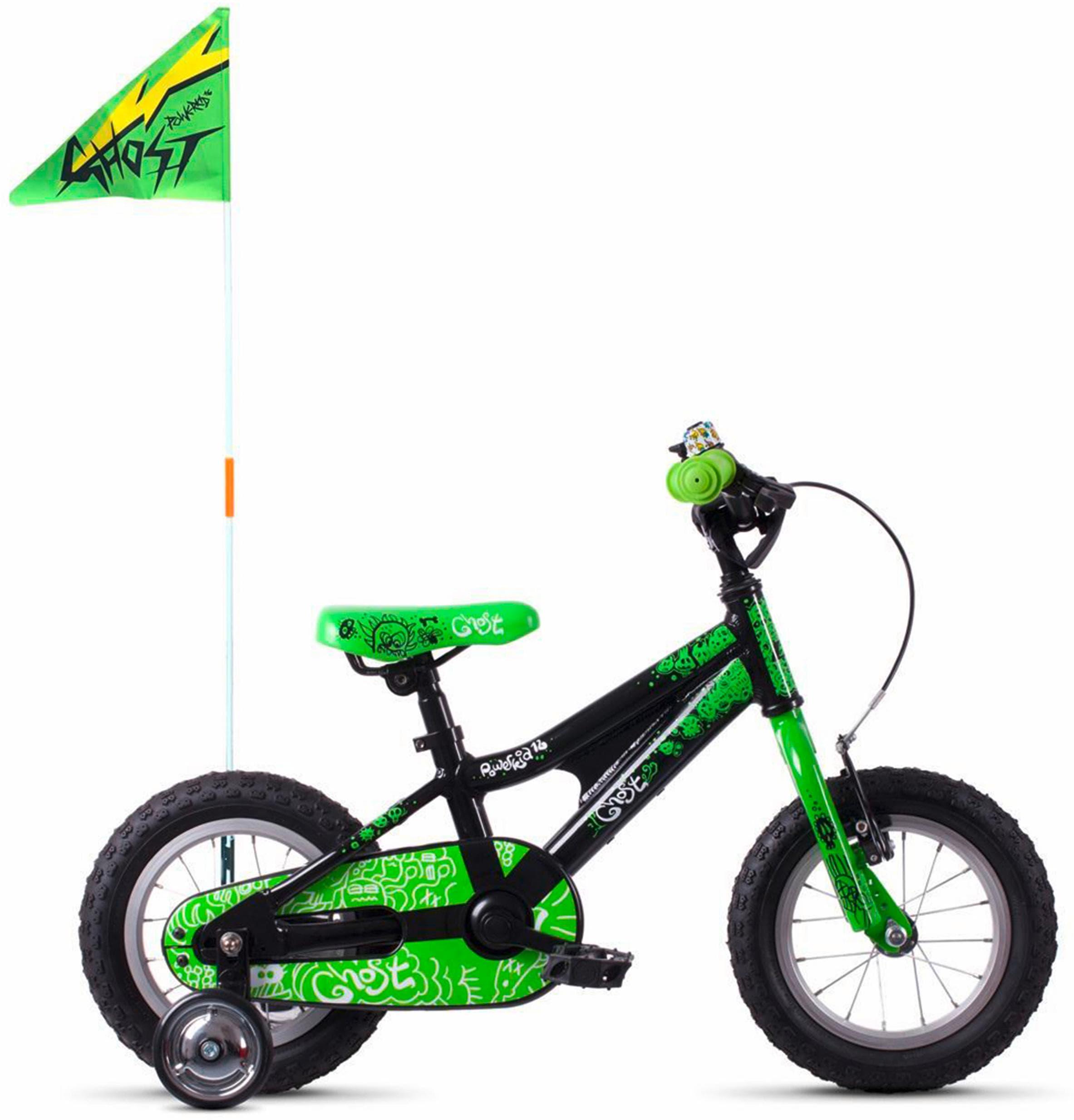 Ghost Kinderfahrrad POWERKID AL 12 K grün Kinder Kinderfahrräder Fahrräder Zubehör Fahrrad