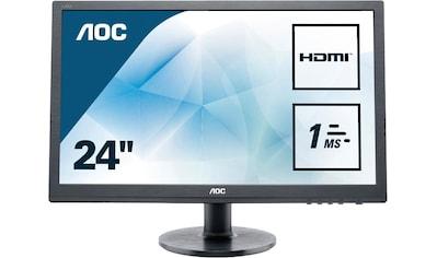 AOC »E2460SH« LED - Monitor (24 Zoll, 1920 x 1080 Pixel, Full HD, 1 ms Reaktionszeit, 60 Hz) kaufen