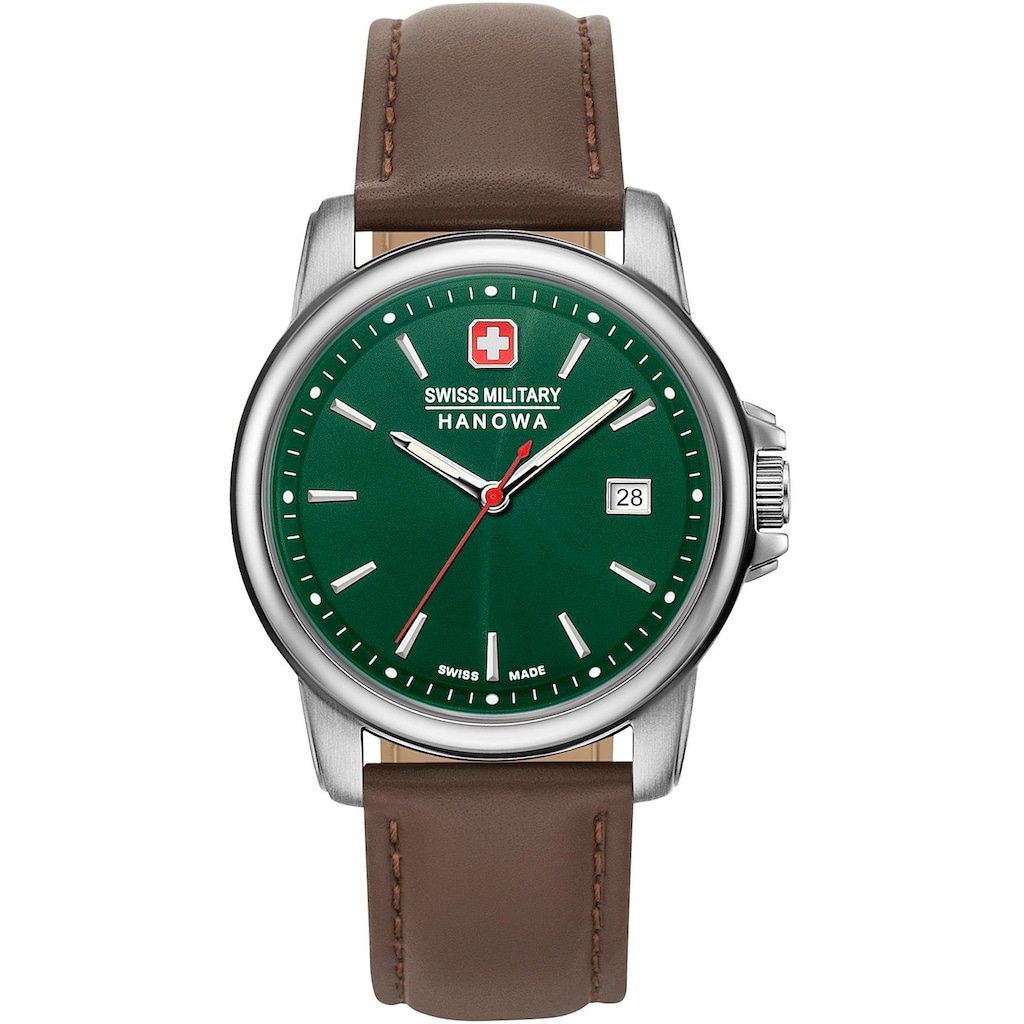 Swiss Military Hanowa Schweizer Uhr »SWISS RECRUIT II, 06-4230.7.04.006«