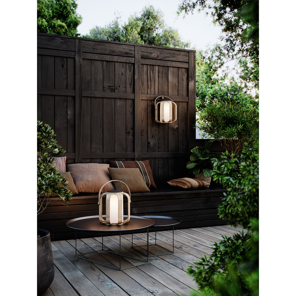 Nordlux LED Außen-Tischleuchte »BOB«, LED-Modul, 5 Jahre Garantie auf die LED / Akku Leuchte