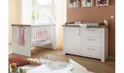 Mäusbacher Babymöbel-Set »Stralsund«, (Spar-Set, 2 St.), Bett + Wickelkommode kaufen