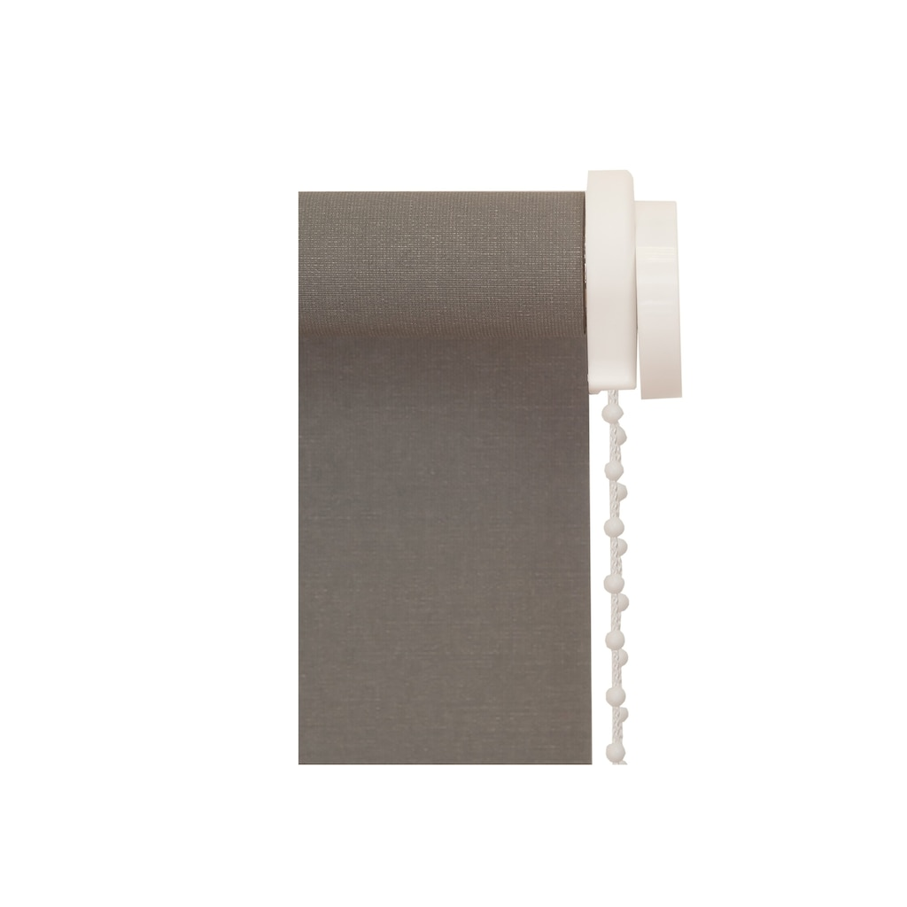 sunlines Seitenzugrollo nach Maß »SZR uni«, verdunkelnd, mit Bohren, freihängend, 1 Stück