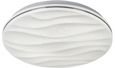 näve LED Deckenleuchte »Austin«, LED-Board, Kaltweiß-Neutralweiß-Warmweiß, Sternenhimmel, Deckenlampe Ø 38 cm, tuya Smart Home, Farbtemperatursteuerung CCT 3000 - 6000 K kaufen