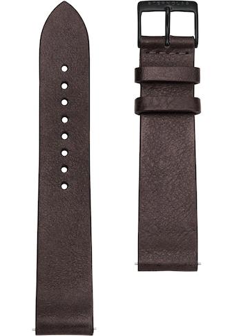 STERNGLAS Uhrenarmband »Vintage 20 mokka schwarz, SBA00/308« kaufen