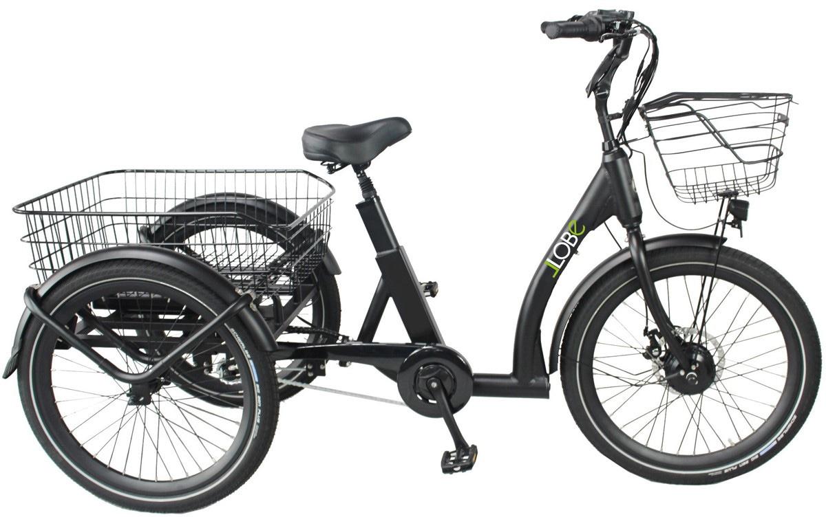 LLobe E-Bike Swing Comfort 24, (mit Fahrradkorb)
