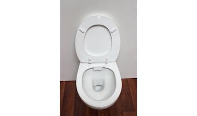 ADOB WC - Sitz »Milano«, mit Rückbrett, universal passend kaufen