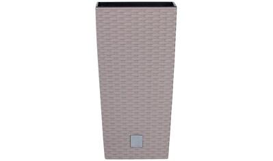 PROSPERPLAST Pflanzkübel »Rato square«, mocca, B/T/H: 32,5/32,5/61 cm kaufen