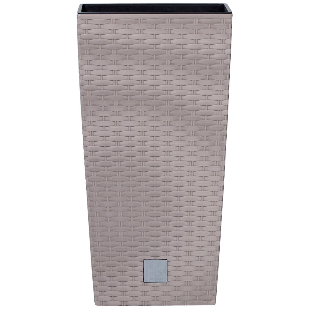 PROSPERPLAST Pflanzkübel »Rato square«, mocca, B/T/H: 32,5/32,5/61 cm