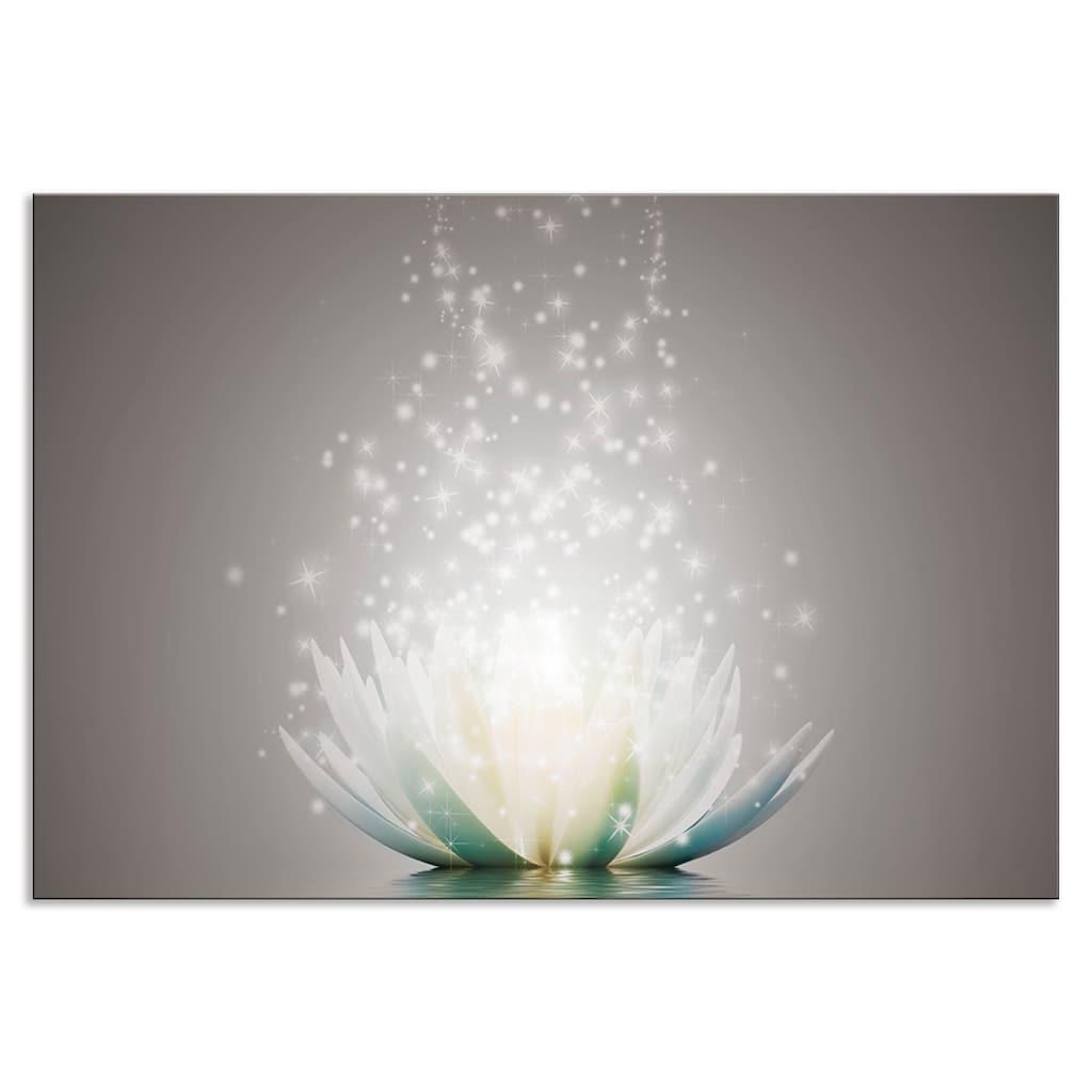 Artland Küchenrückwand »Magie der Lotus-Blume«