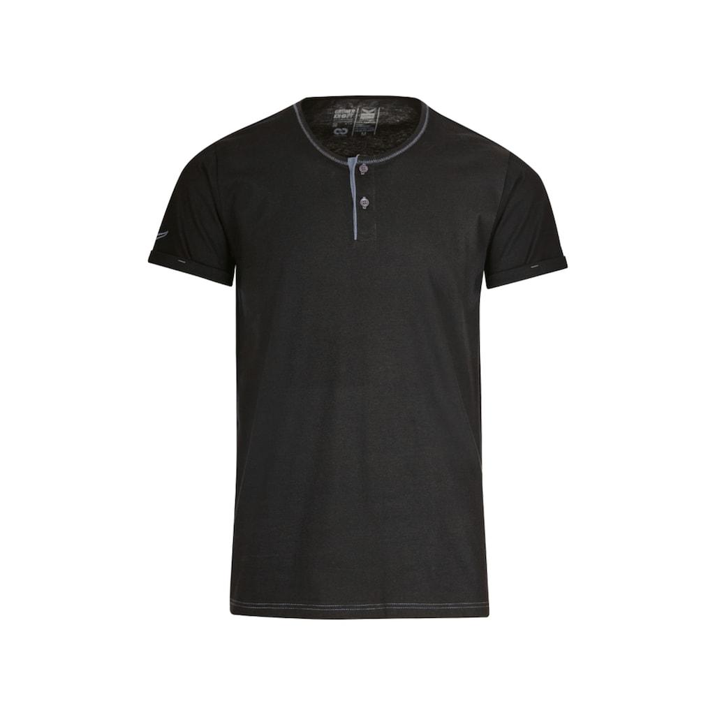 Trigema T-Shirt Knopfleiste aus Biobaumwolle