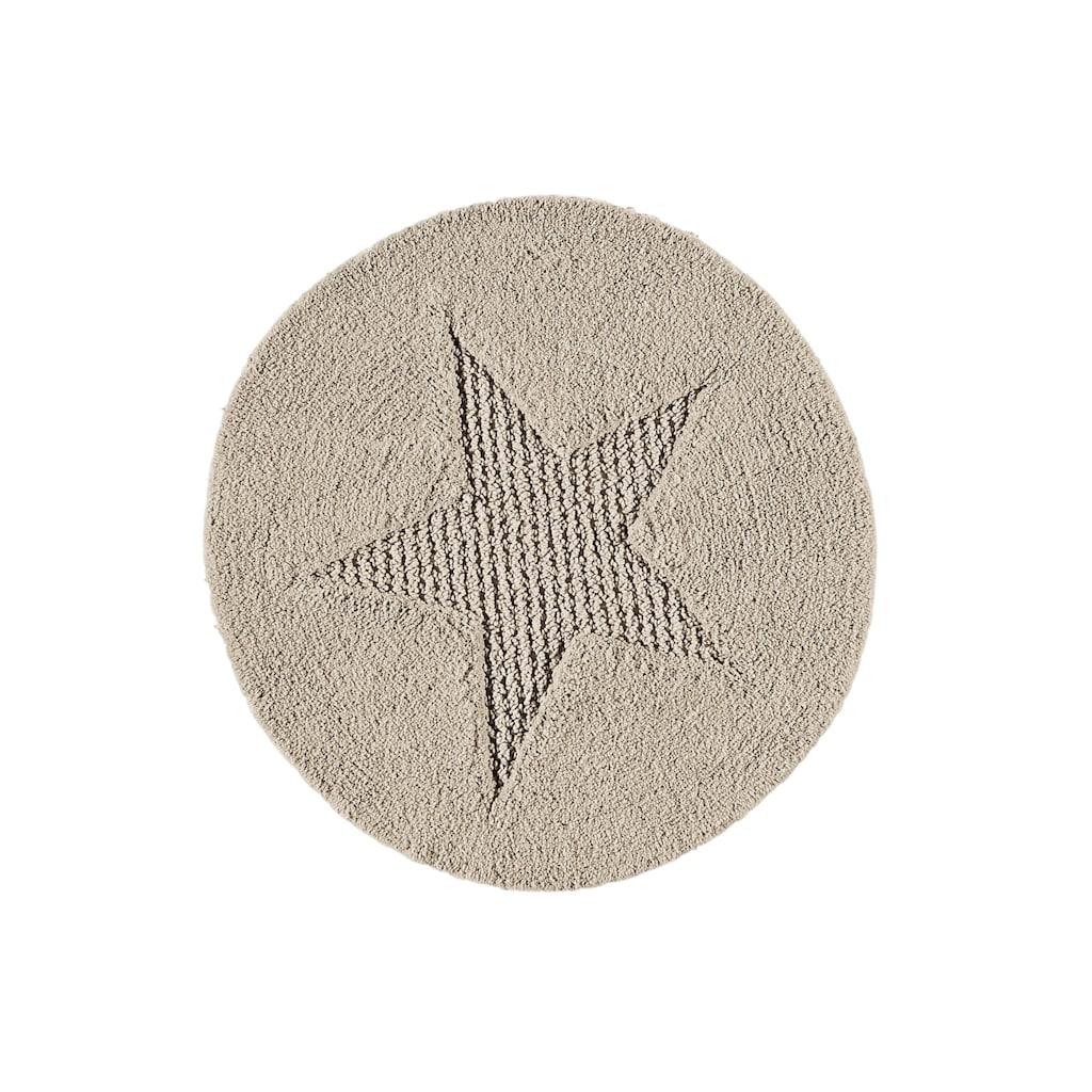 Badgarnitur Stern mit Stern-Motiv