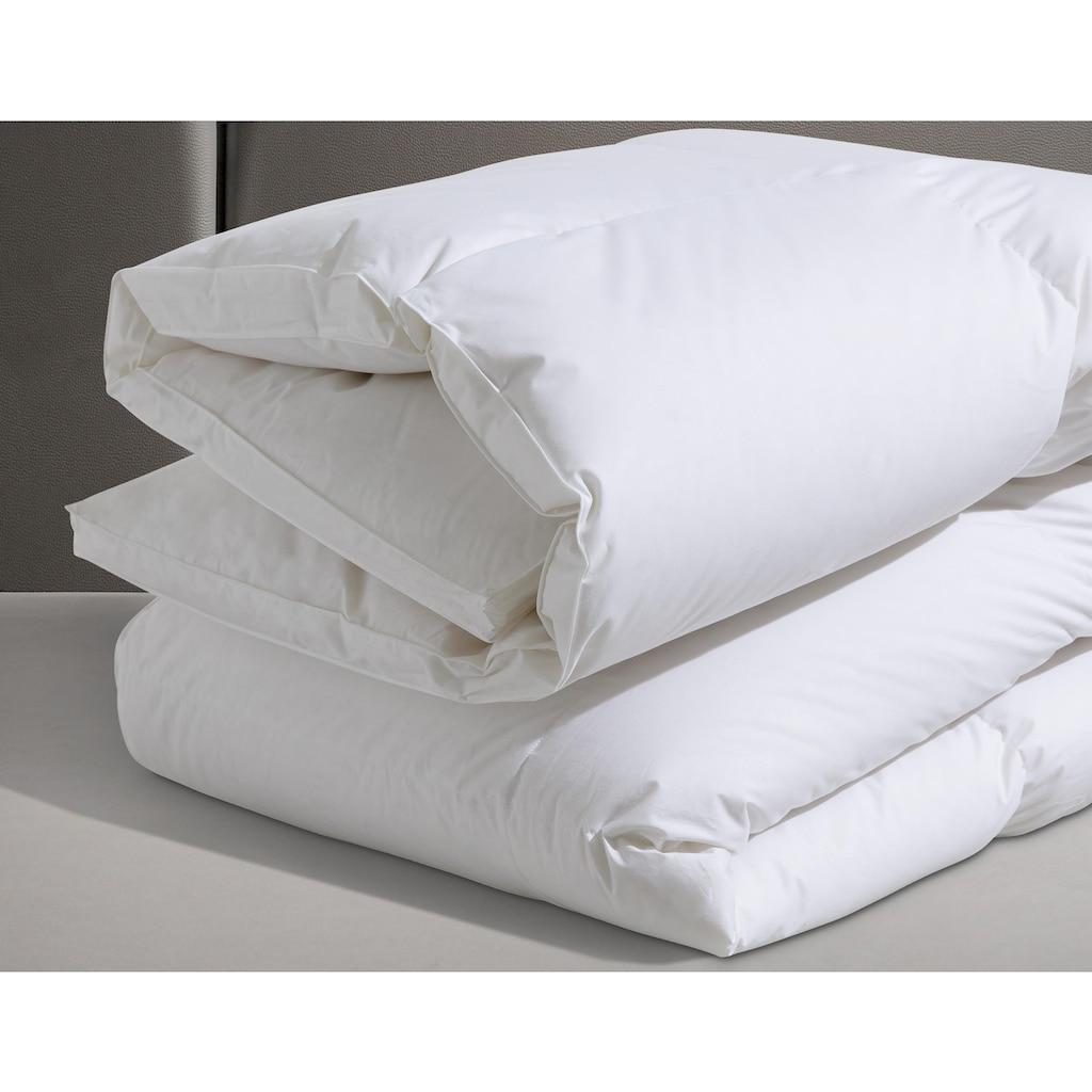 SPESSARTTRAUM Gänsedaunenbettdecke »Premium******«, extrawarm, Füllung 100% Gänsedaunen, Bezug 100% Baumwolle, (1 St.), hergestellt in Deutschland, allergikerfreundlich