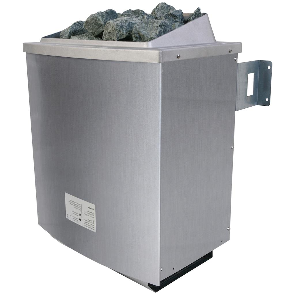 Karibu Saunaofen, für externe Steuerungen, mit Steinen