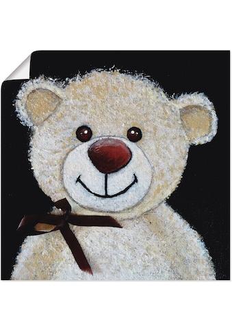 Artland Wandbild »Teddybär«, Spielzeuge, (1 St.), in vielen Größen & Produktarten -... kaufen