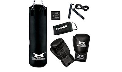 Hammer Boxsack »Chicago« (Set, 4 - tlg., mit Boxhandschuhen, mit Sprungseil) kaufen