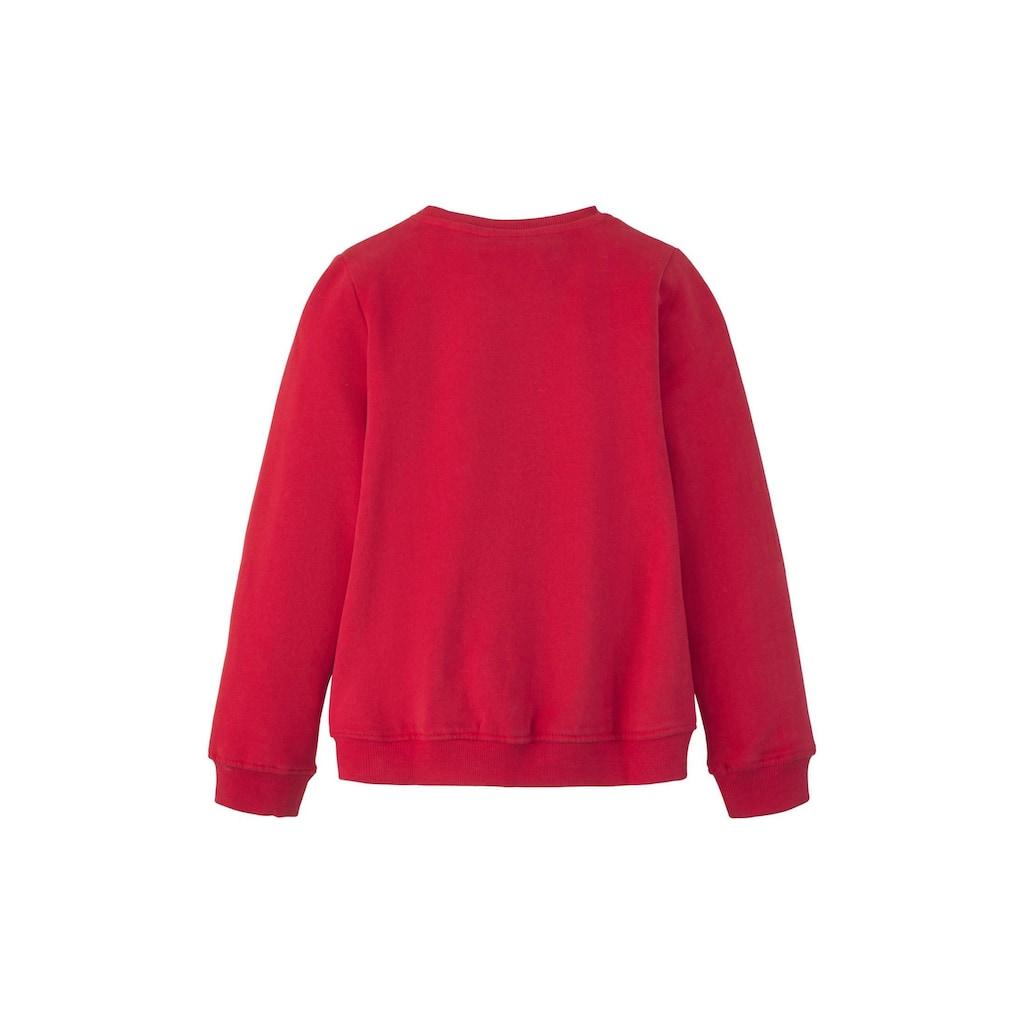 TOM TAILOR Sweatshirt »Sweatshirt mit Pailletten-Motiv«
