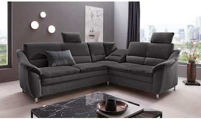 Places of Style Ecksofa »Cardoso«, Federkern, wahlweise mit Bett, Schubkasten,... kaufen