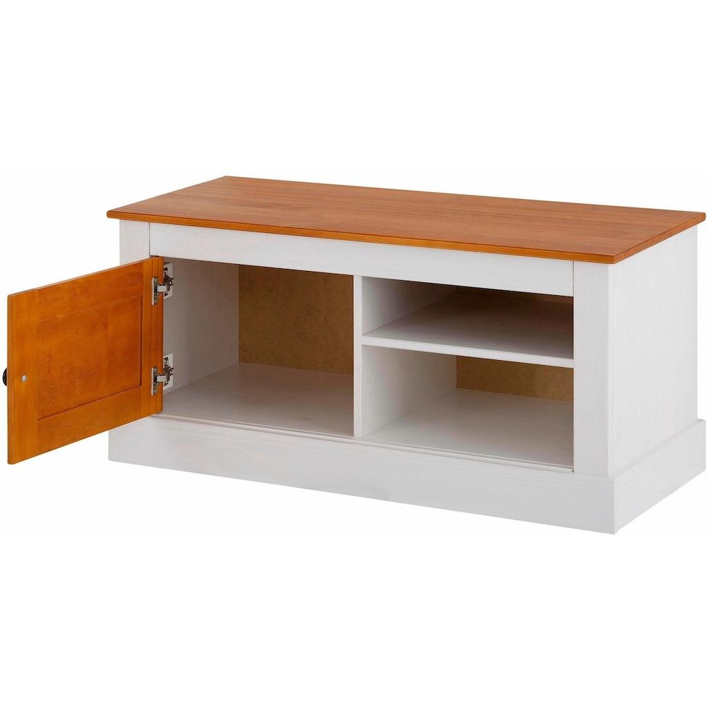 Home affaire Sitzbank »Como«, aus massivem Kiefernholz, mit schönen Stauraummöglichkeiten