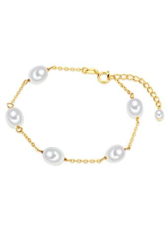 Valero Pearls Perlenarmband »VP743«, (1 tlg.), aus Süßwasser-Zuchtperlen kaufen