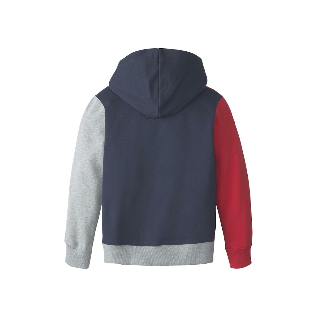 TOM TAILOR Sweatshirt »Hoodie mit Colorblocking«