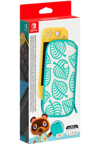 Nintendo Switch Spielekonsolen-Tasche »Switch Lite Animal Crossing Edition + Schutzfolie« kaufen