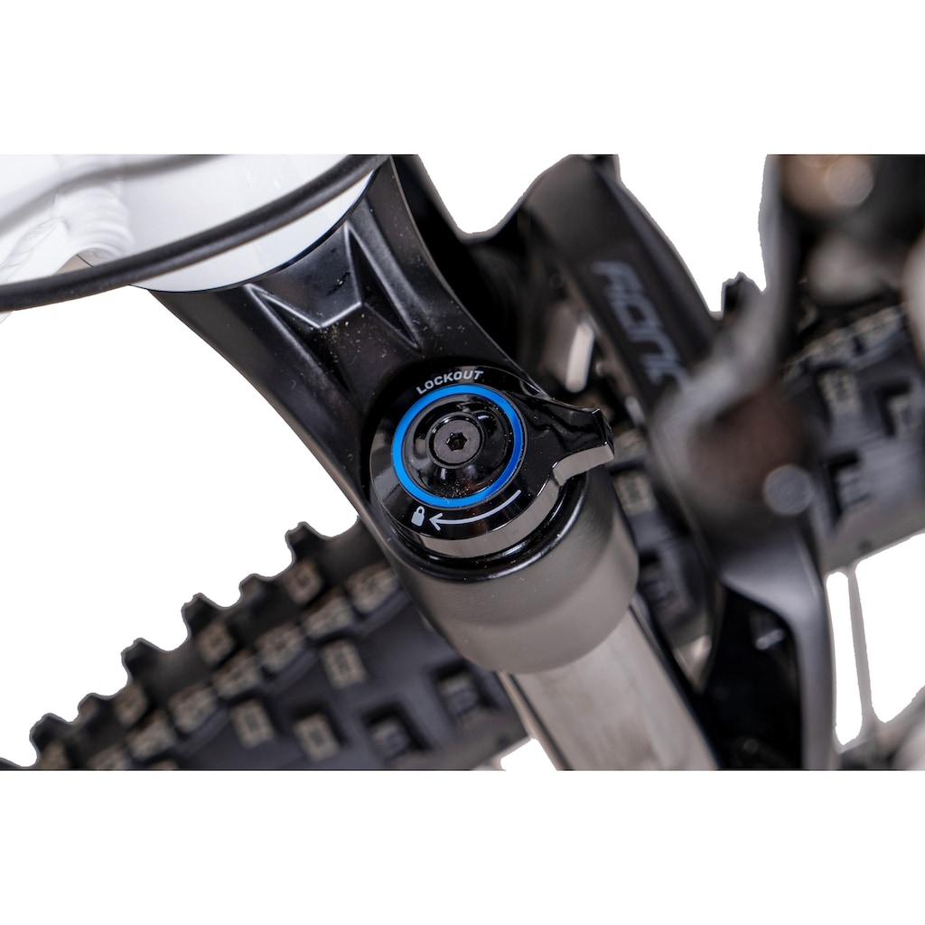 Chrisson E-Bike »E-MOUNTER 3.0«, 11 Gang, Shimano, Deore XT RD-M8000-SGS, Mittelmotor 250 W