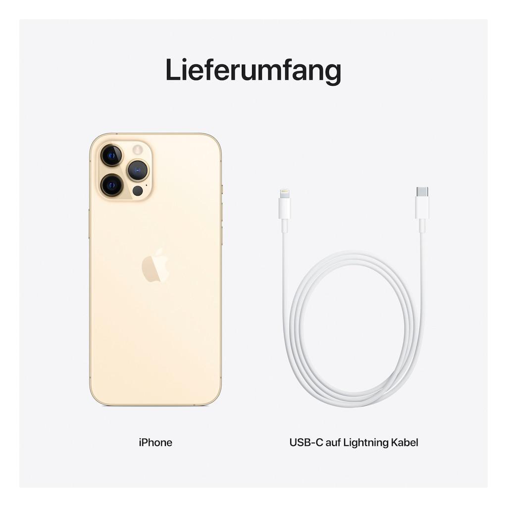 """Apple Smartphone »iPhone 12 Pro Max - 512GB«, (17 cm/6,7 """" 512 GB Speicherplatz, 12 MP Kamera), ohne Strom Adapter und Kopfhörer, kompatibel mit AirPods, AirPods Pro, Earpods Kopfhörer"""