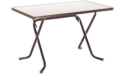 BEST Gartentisch »Primo«, klappbar, Stahl/Alcolit, 110x70 cm kaufen