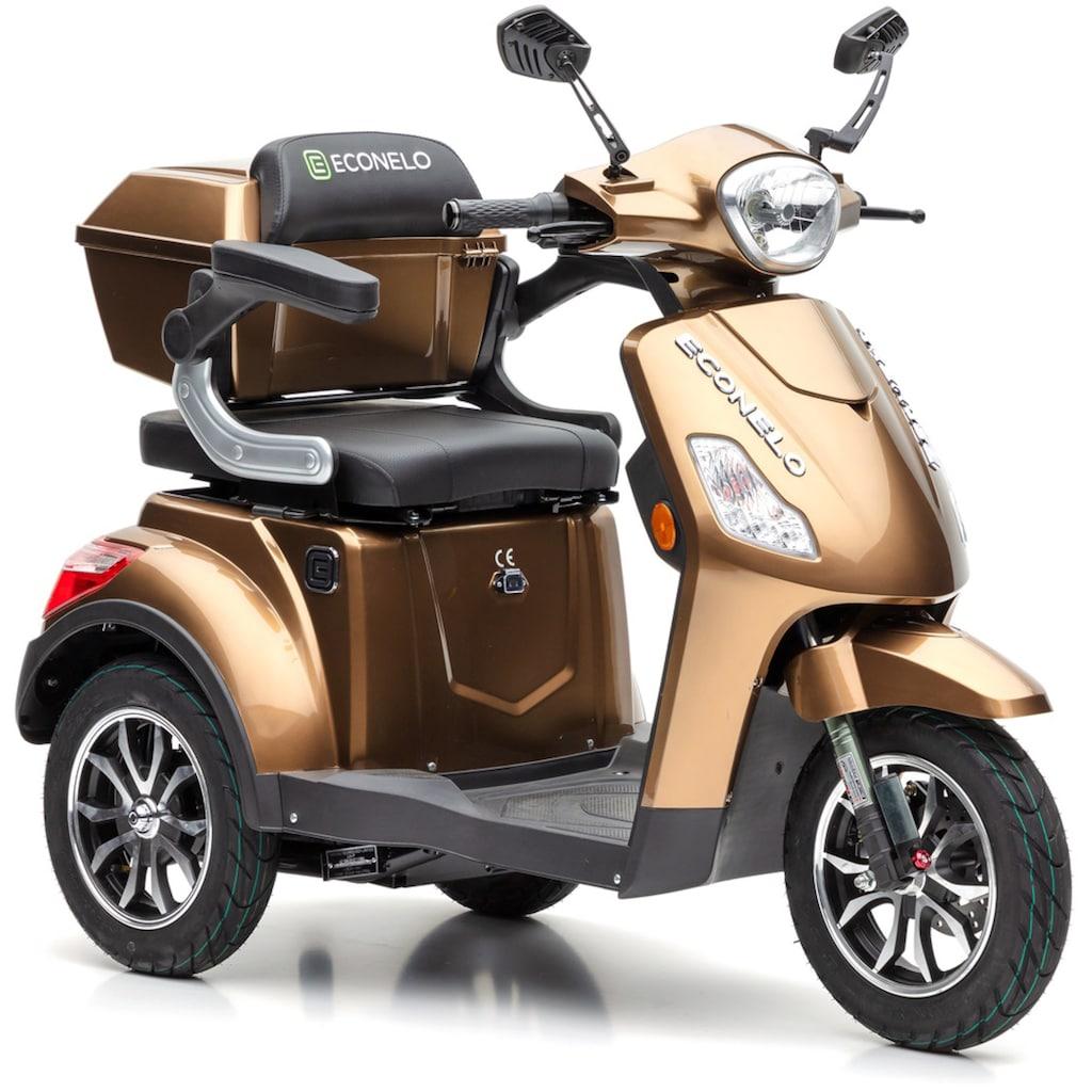 ECONELO Elektromobil »J1000«, 1000 W, 25 km/h, (mit Topcase)