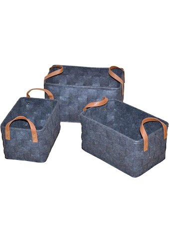 Aufbewahrungskorb (Set, 3 Stück) kaufen