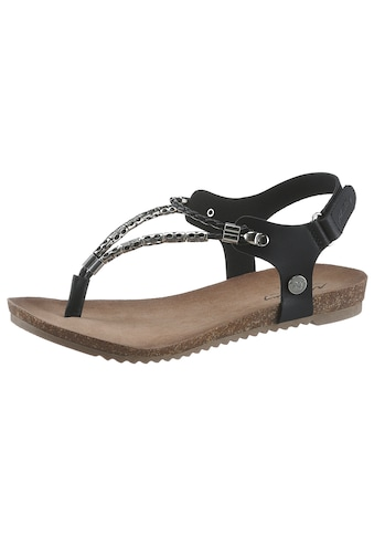Mustang Shoes Sandale, mit Schmuckdetails kaufen