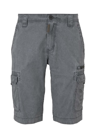 TOM TAILOR Bermudas »Cargo Bermuda-Shorts im Washed-Look « kaufen