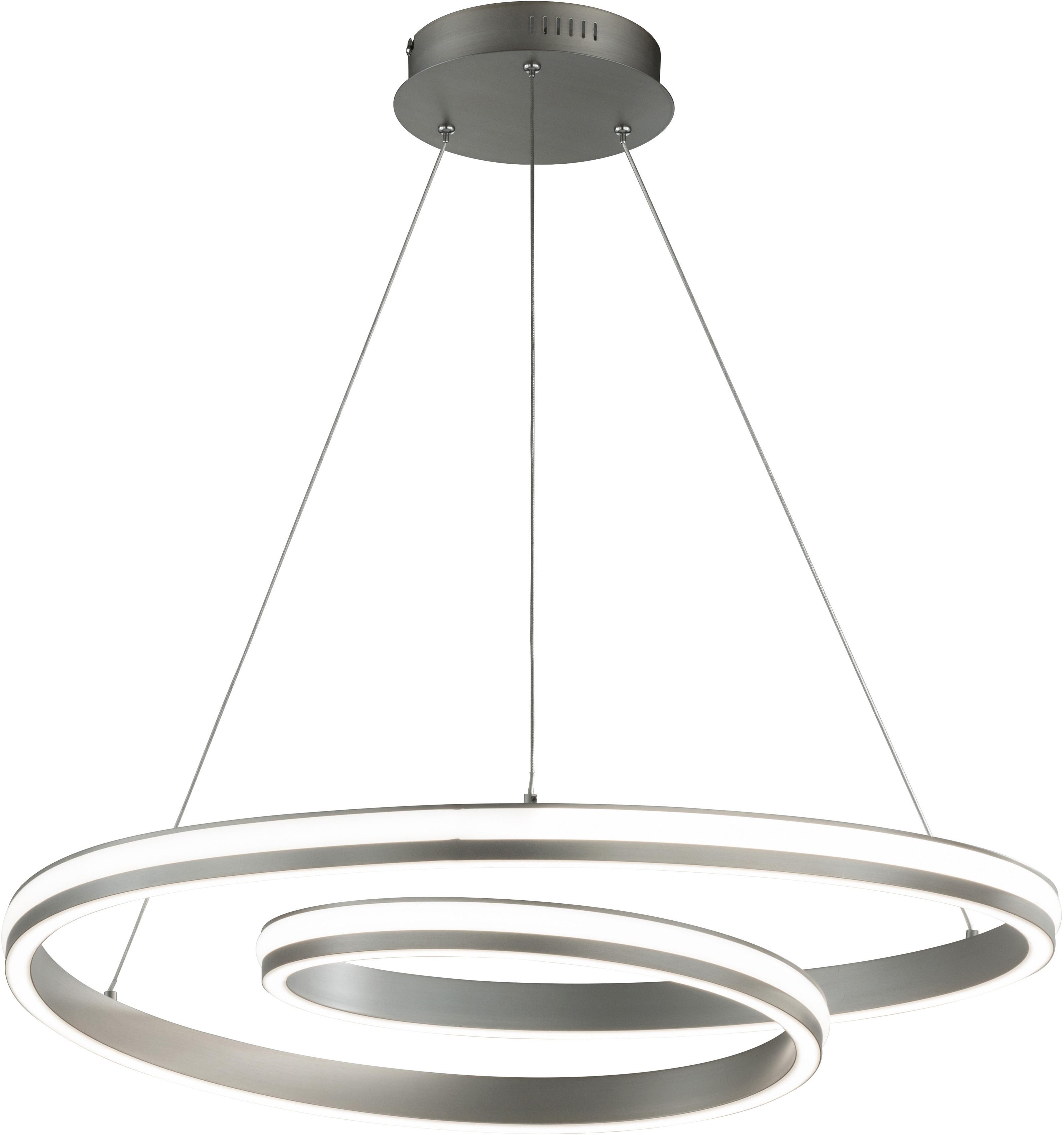 FISCHER & HONSEL LED Pendelleuchte Spiral TW, LED-Board, 1 St., Farbwechsler
